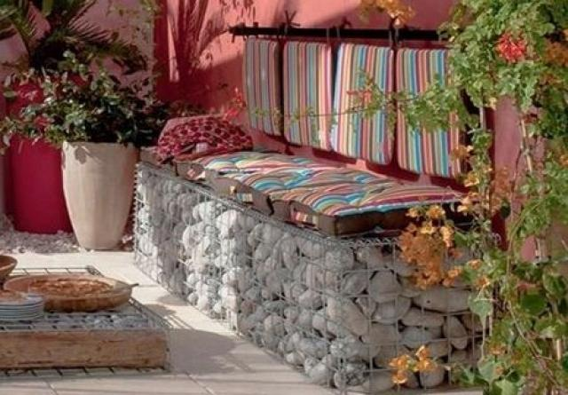 Габионы – модный тренд в ландшафтном дизайне