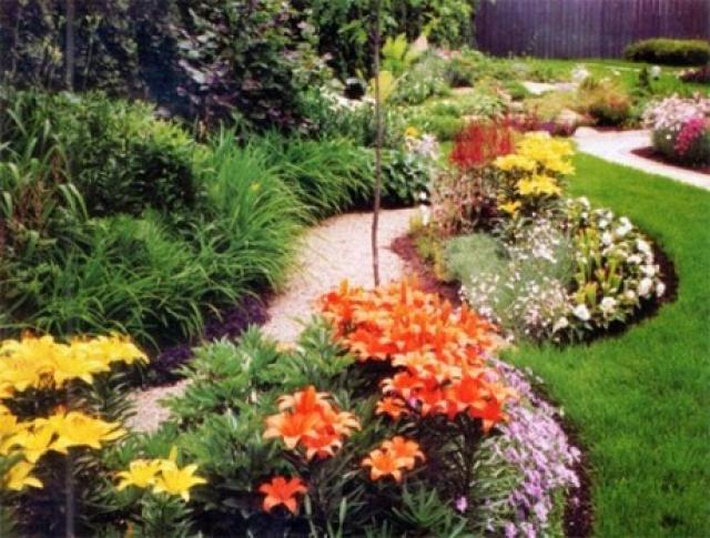 Игра цвета и света в вашем саду: радужные перспективы ландшафтного дизайна