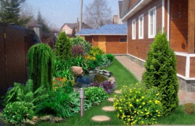 Как оформить палисадник своими руками: красивые идеи обустройства территории перед домом