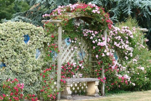 Как оформить садовый участок своими руками — фото и эффектные приемы дизайнеров
