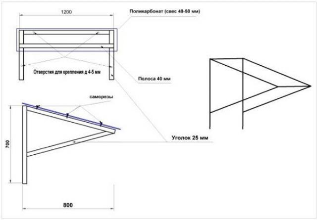 Как построить навес над крыльцом своими руками – идеи и пошаговые инструкции