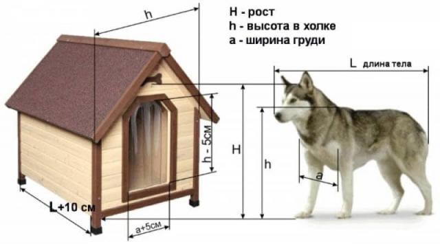 Как сделать собачью будку своими руками