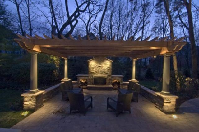 Пергола в ландшафтном дизайне — украшение сада и защита от солнца