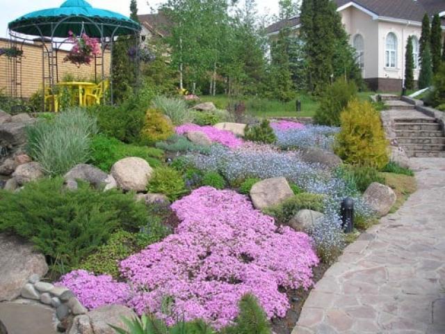 Разноуровневые сады: примеры удачного дизайна многоуровневого участка