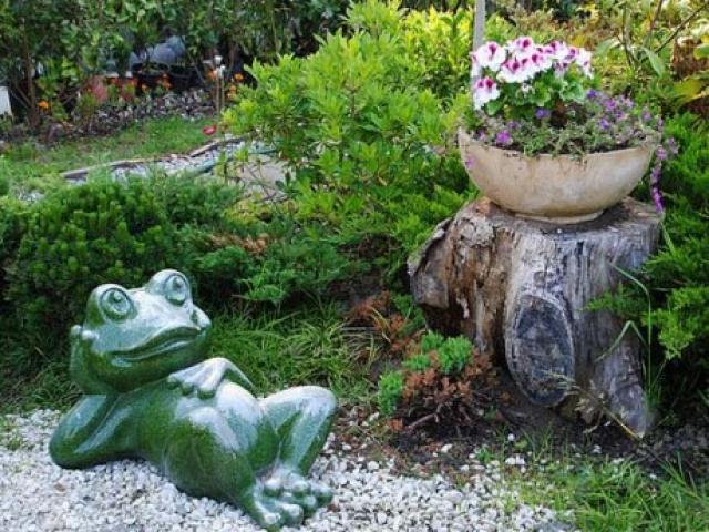 Создаем садовые фигуры для дачи своими руками